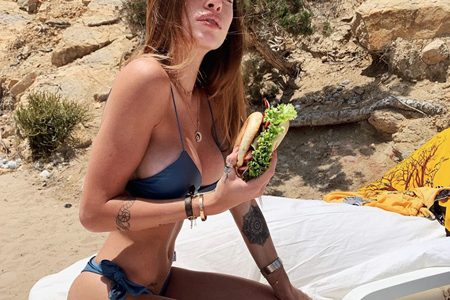 «I haven't had water for 2 years» Chiara Nasti and her secret against cellulite