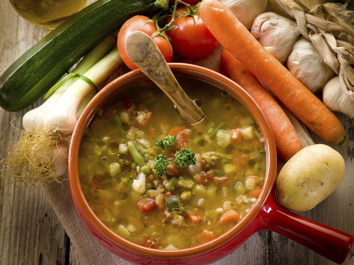 soup vegetable-minestrone