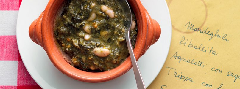 Black cabbage ribollita: the recipe from Tuscany