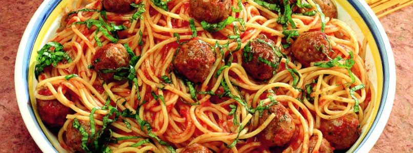 Spaghetti recipe with meatballs