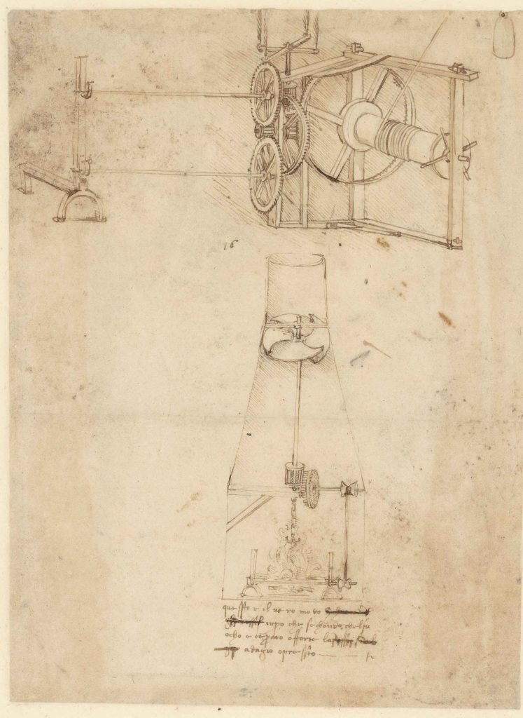 5 inventions in the kitchen by Leonardo da Vinci, the Tuscan genius