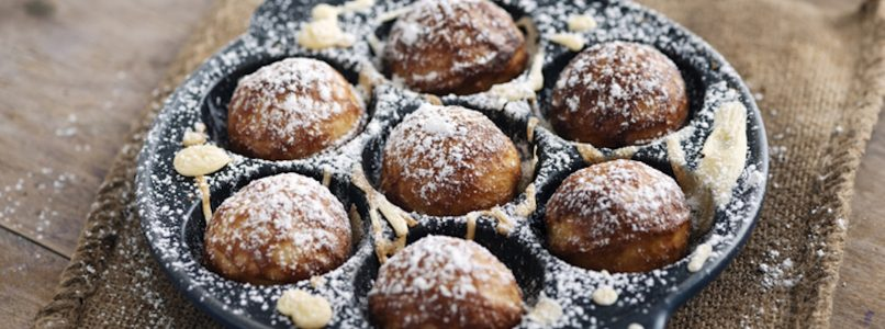 Aebleskivers: the Danish pancake balls