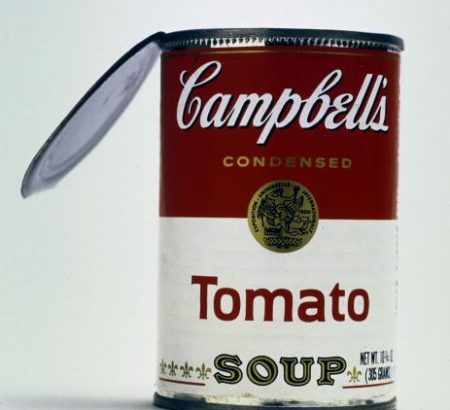 Andy Warhol and Campbell's soup: was not your idea?