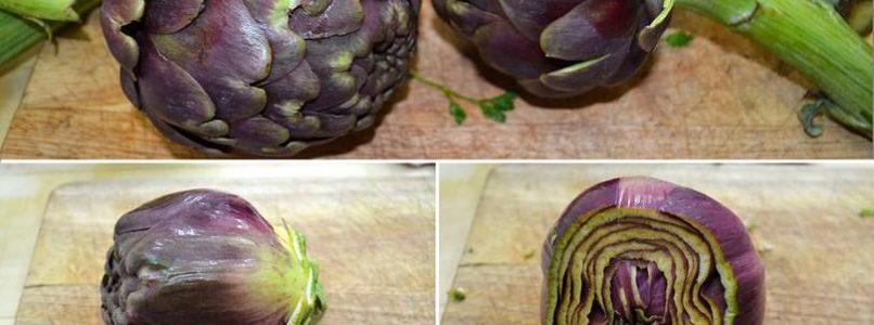 »Artichokes with sauce - Recipe Artichokes with Misya sauce