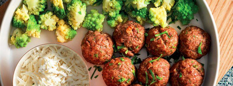 Baked Meatballs Recipe - Italian Cuisine