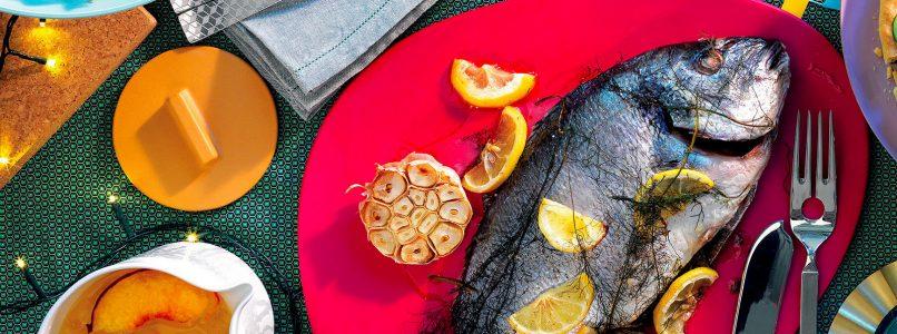 Baked sea bream recipe - Italian Cuisine