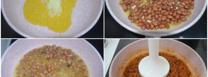 »Bean cream risotto