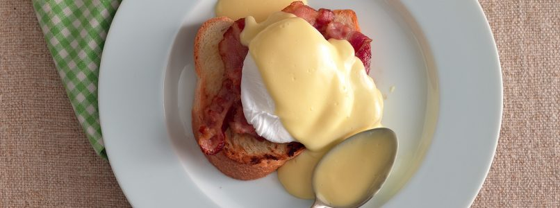Benedictine eggs, easy recipe