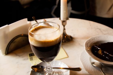 Bicerin, Turin's coffee in a small glass. Recipe
