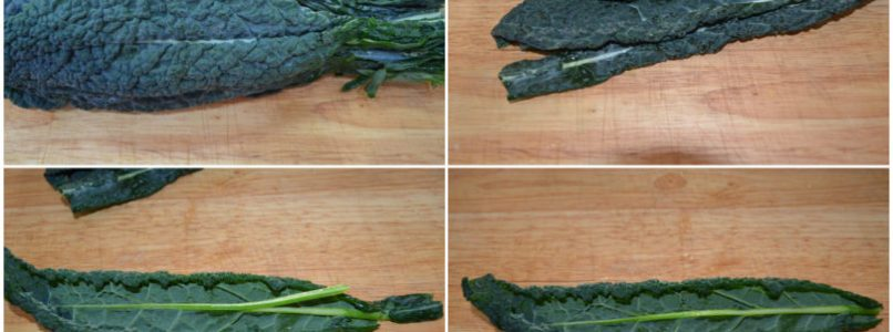 »Black cabbage chips