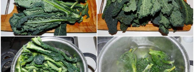 »Black cabbage in a pan