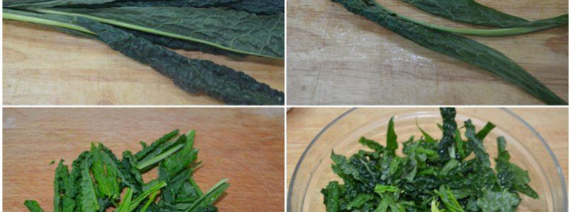 »Black cabbage salad