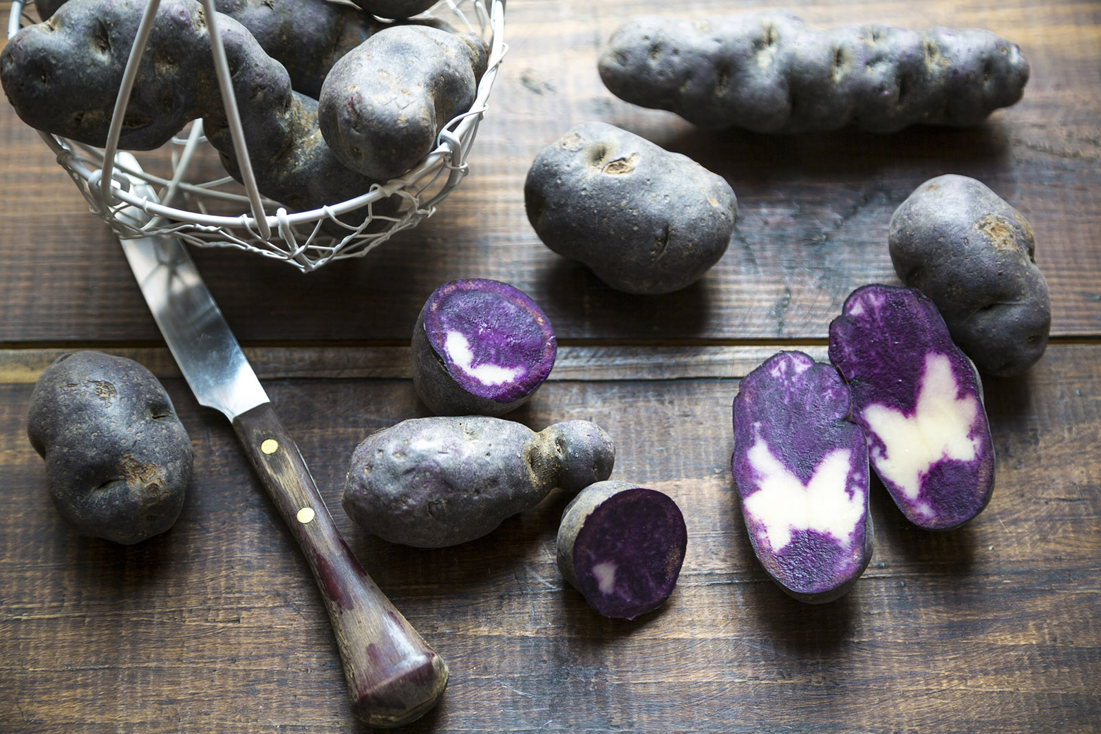 Black potato, what's different compared to the white one? An expert answers
