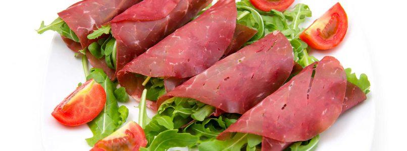 Bresaola rolls: 5 recipes