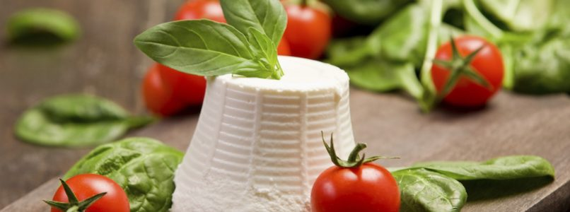 Buffalo ricotta, an ally against the heat