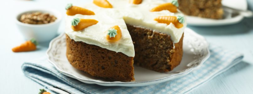 Carrot cake: let's do it different!