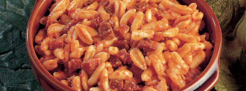 """Cavatelli """"del pezzente"""" recipe - Italian Cuisine"""