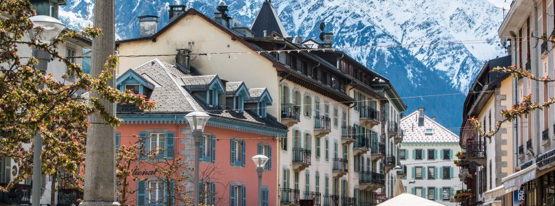 Chamonix, the coolest place to relax and have fun just across the Italian border