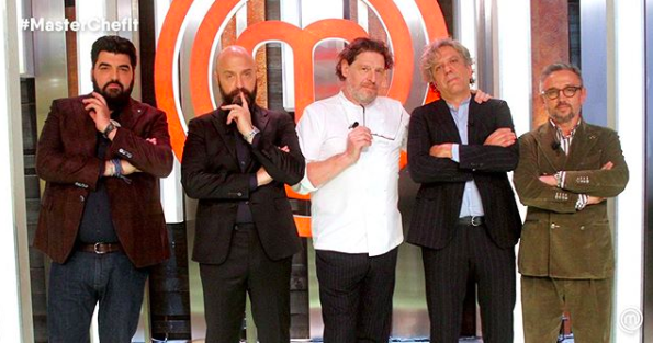 Chef Giorgio Locatelli is the new social star of Masterchef Italia 8
