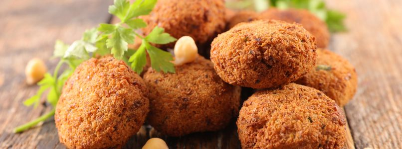 Chickpea meatballs, the quick and easy recipe