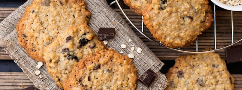 Chocolate chips oat cookies: a different recipe