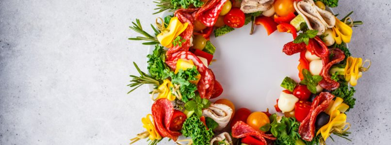 Christmas wreaths to eat