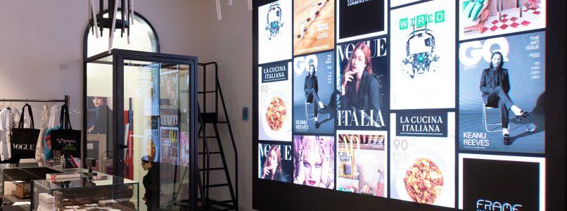 Condé Nast Italia presents Frame: experience store