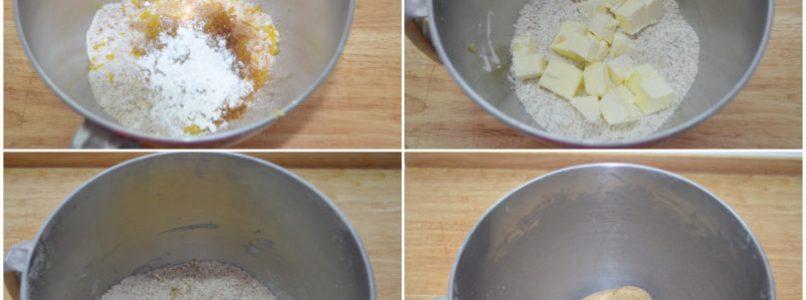 »Crumbled whole - Misya's integral crumbled recipe