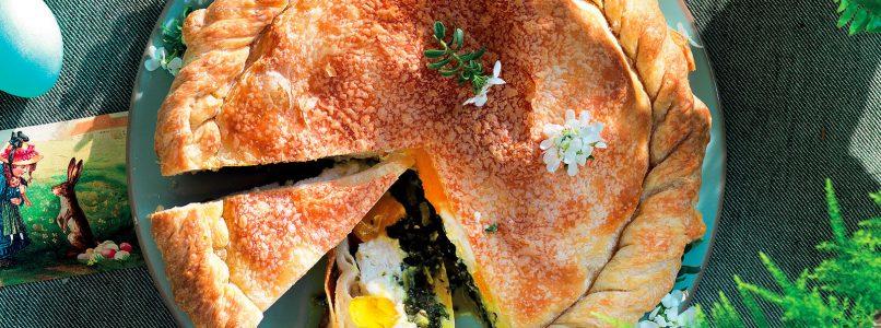 Easter cake recipe from Liguria