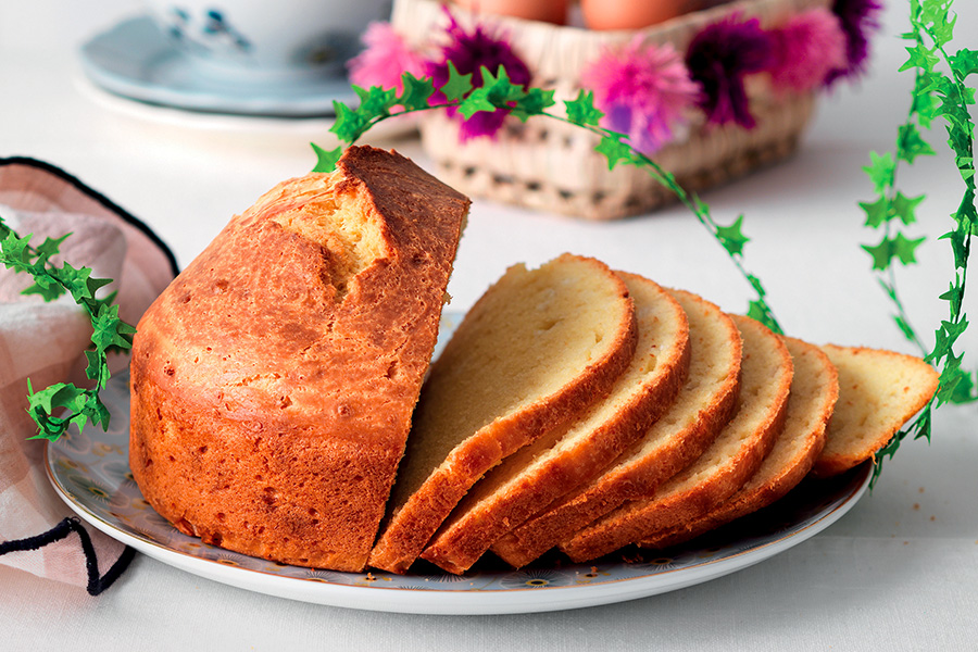 Easter cake recipe with cheese