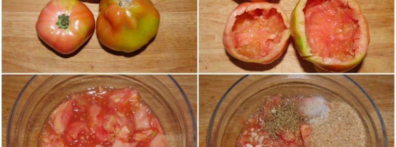 »Egg-stuffed tomatoes