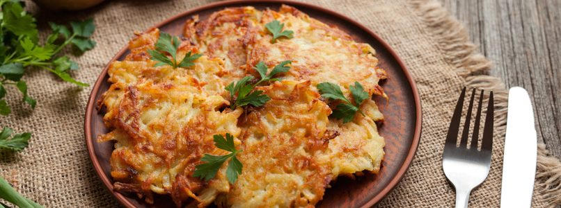 Frico, a delicious mix of potatoes, cheese and onions