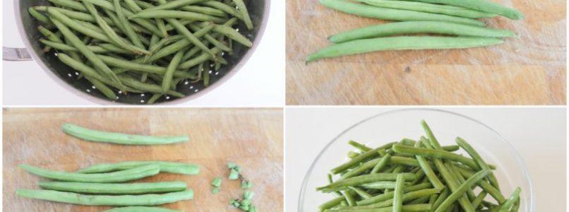»Green beans in oil - Recipe Green beans in oil from Misya