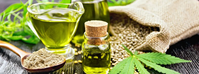 Hemp-based foods, that's what's special