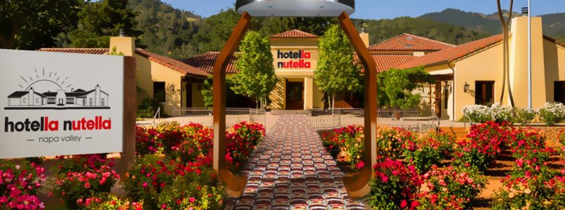 Hotella Nutella, opens the first hotel dedicated to Ferrero cream