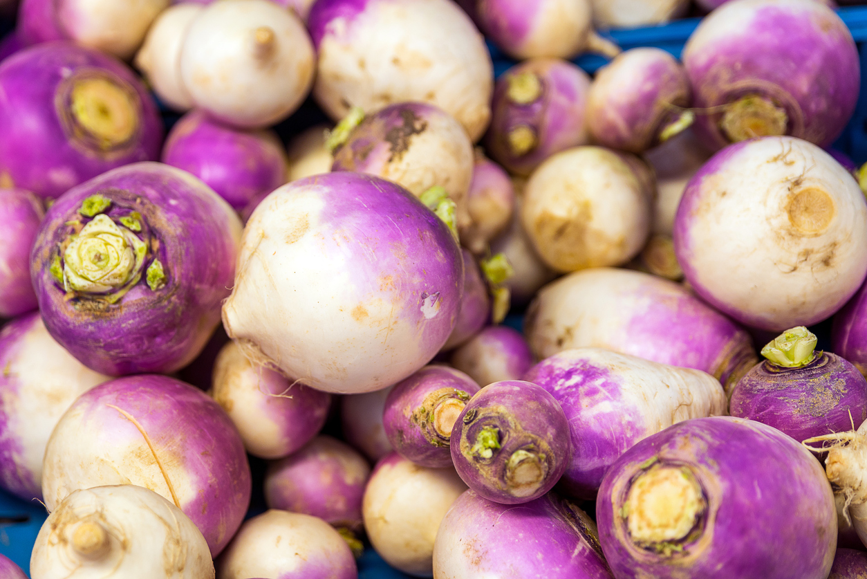 How are turnips cooked? We'll tell you