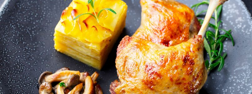 How do you make confit cooking?