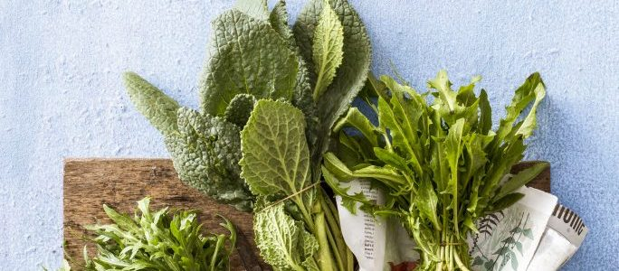 How to cook wild herbs
