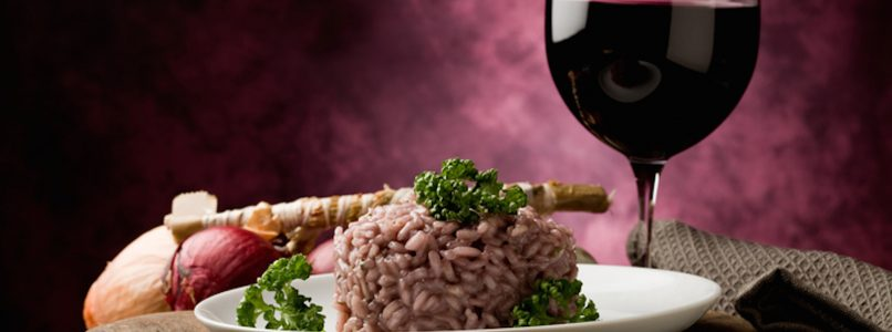 How to make risotto with Barolo