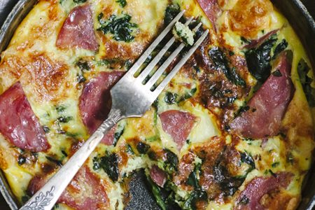 How to make the omelette in the oven: recipe
