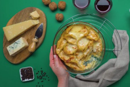How to prepare conchiglioni with pumpkin and zola: the recipe