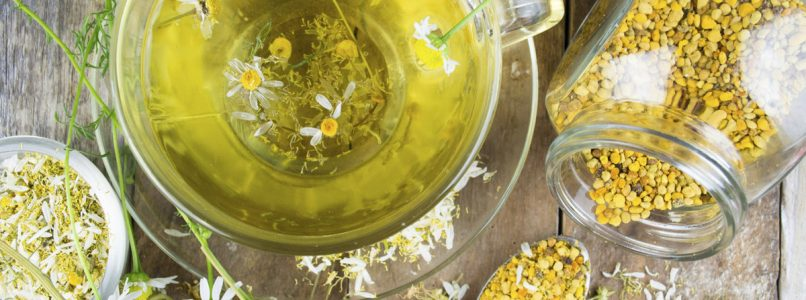 How to use chamomile in the kitchen