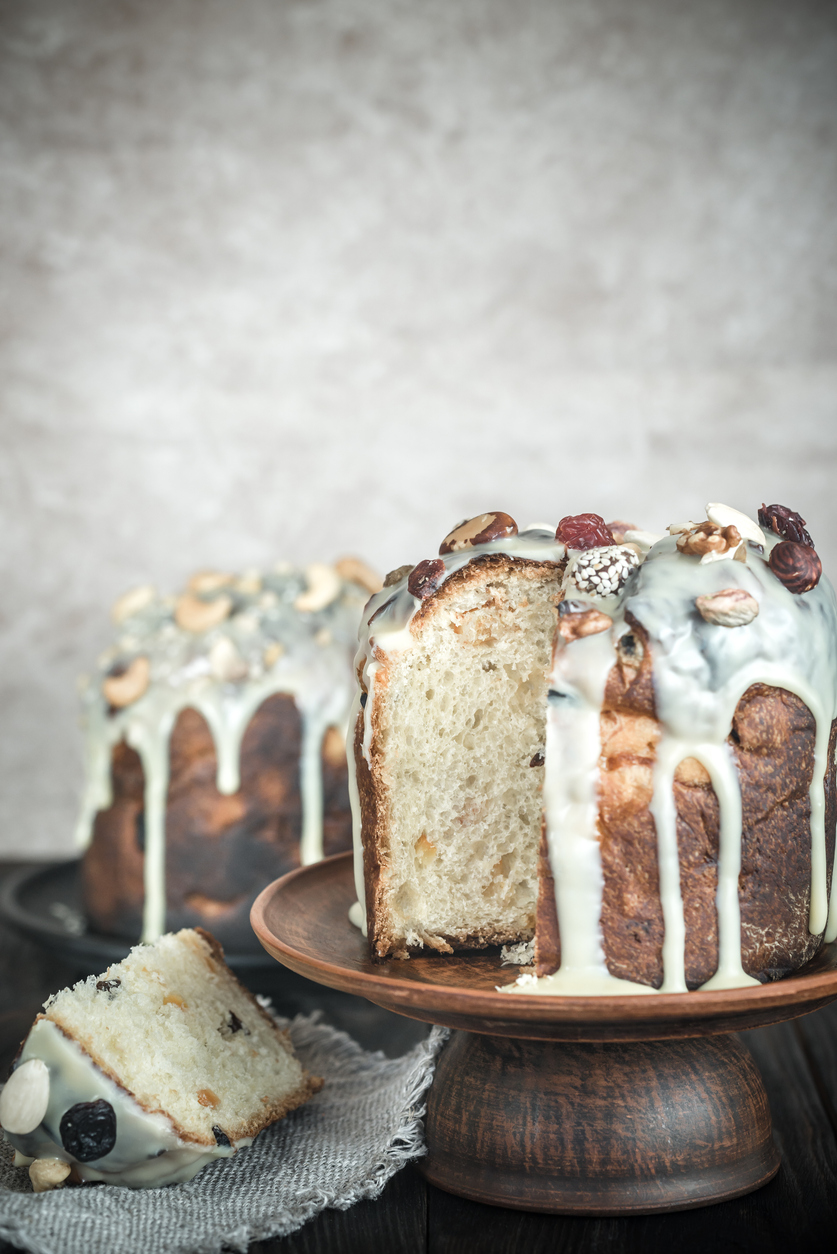 Icing for panettone: 3 good ideas