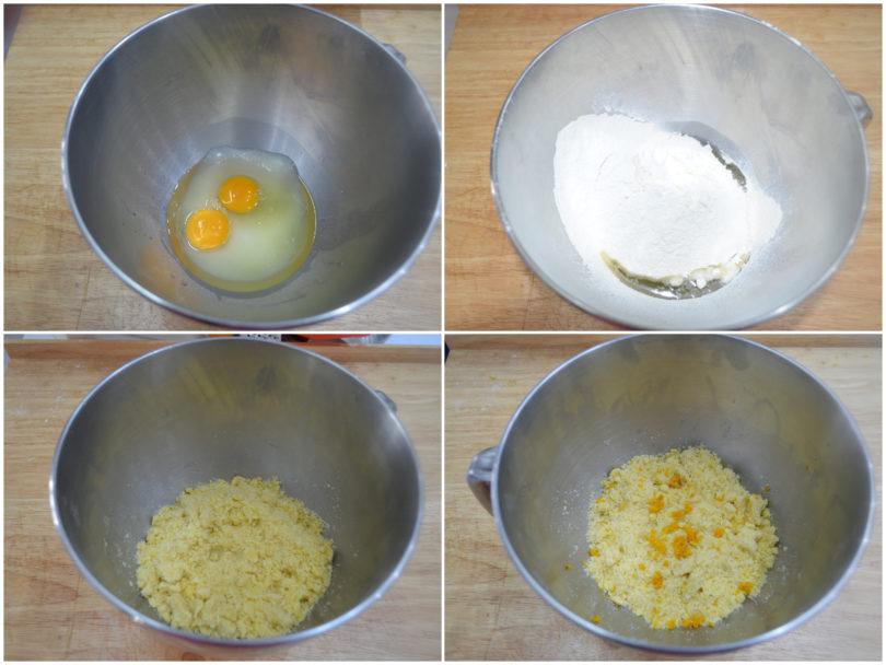 »Layered tart - Recipe Layered tart of Misya