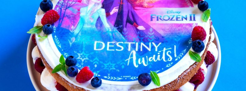 Let's celebrate together with the Disney Frozen 2 theme cake