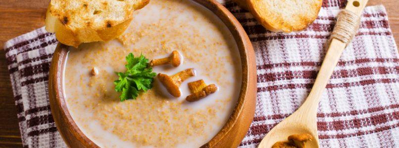 Light recipes with honey mushrooms