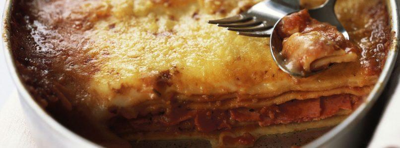 Low-carb lasagna, the most delicious light idea