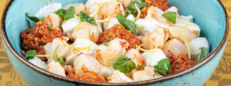 Mediterranean bowl: the super healthy recipe with buffalo mozzarella