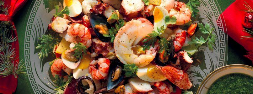Modern lean Cappon recipe - Italian Cuisine
