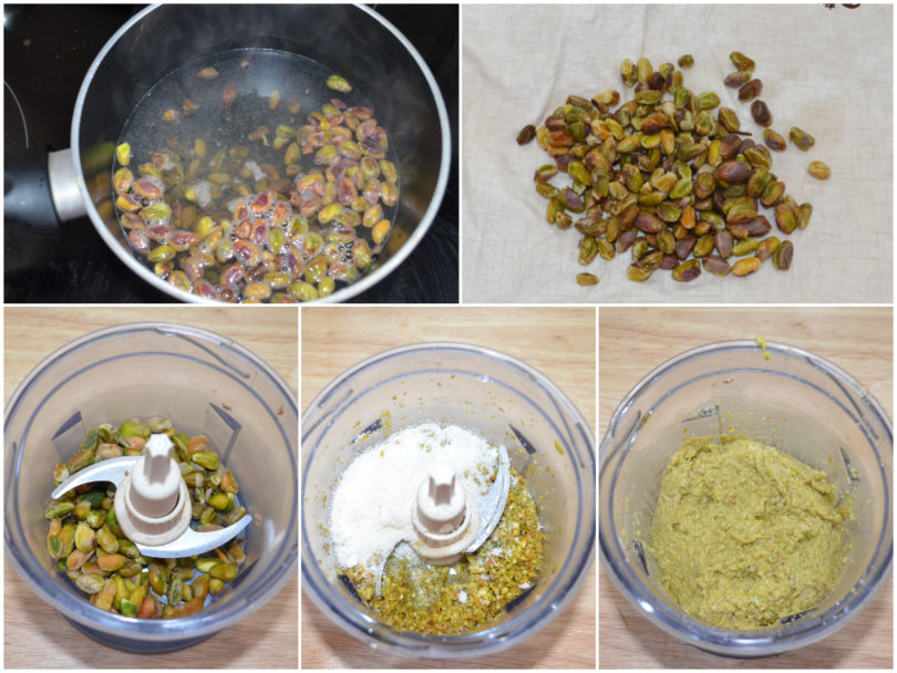 »Muffin with pistachios and mortadella